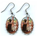 Earrings - Temple of Bastet