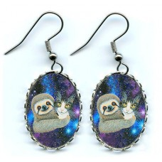 Earrings - Trixie and Her Sloth Friend