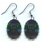 Earrings - Bela Vampire Cat