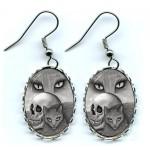 Earrings - Witch's Cat Eyes
