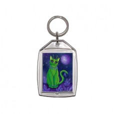 Keychain - Alien Cat