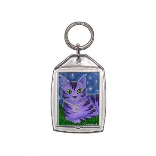 Keychain - Astra Moon Cat