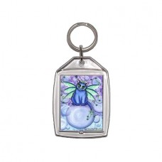 Keychain - Bubble Fairy Cat