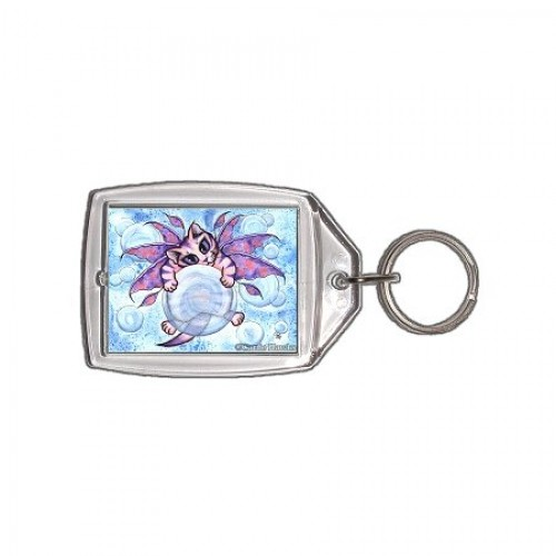 Keychain - Bubble Fairy Kitten