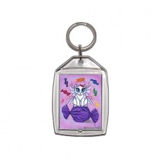 Keychain - Candy Fairy Cat, Hard Candy