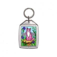 Keychain - Dea Dragonfly Cat