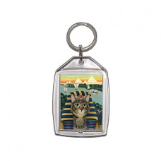 Keychain - Egyptian Pharaoh Cat