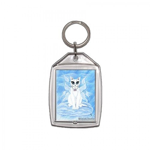 Keychain - Elemental Air Fairy Cat