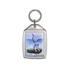 Keychain - Elemental Water Mermaid Cat