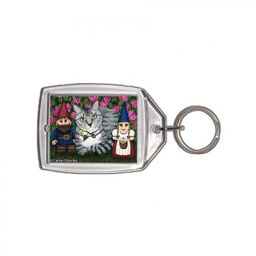Keychain - Garden Friends