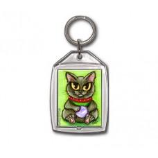 Keychain - Maneki Neko Health Cat