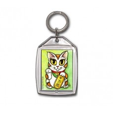 Keychain - Maneki Neko Luck Cat