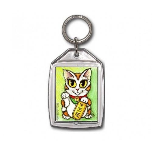 Keychain - Maneki Neko Luck Cat