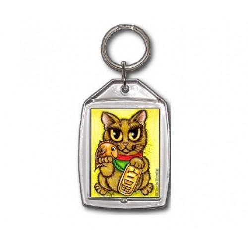 Keychain - Maneki Neko Wealth Cat