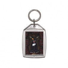 Keychain - The Black Cat