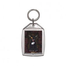 Keychain - The Black Cat