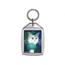 Keychain - Purrincess Isadora