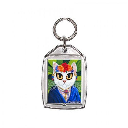 Keychain - Senorita Cat