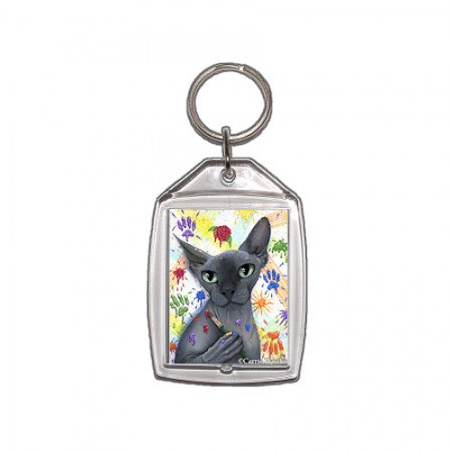 Keychain - Walter The Artist
