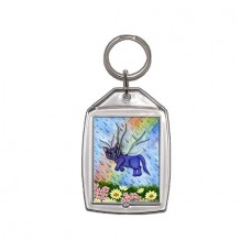 Keychain - Spring Showers Fairy Cat