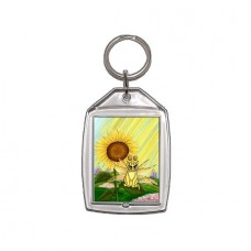 Keychain - Summer Sunshine Fairy Cat