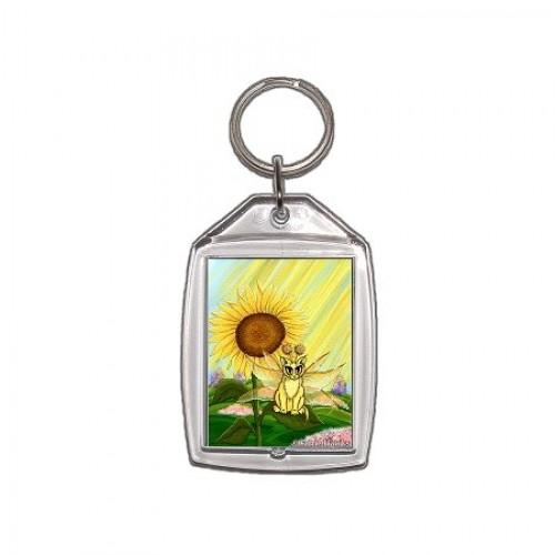 Keychain - Summer Sunshine Fairy Cat