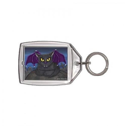 Keychain - Vlad Vampire Cat