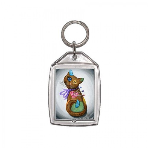 Keychain - Voodoo Cat Doll