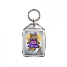Keychain - Voodoo Empress Fairy Cat Doll