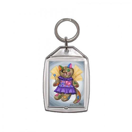 Keychain - Voodoo Empress Fairy Cat Doll