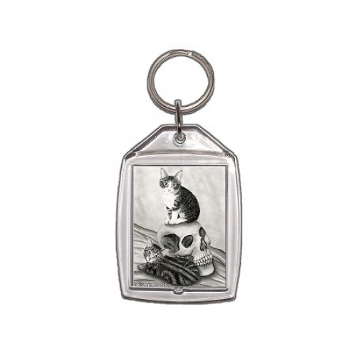 Keychain - Witch's Kittens