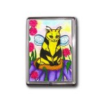 Magnet - Buzz Bumble Bee Cat