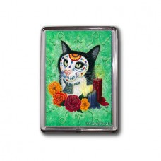 Magnet - Day of the Dead Cat Candles