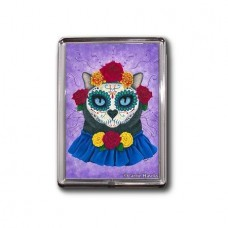 Magnet - Day of the Dead Cat Gal