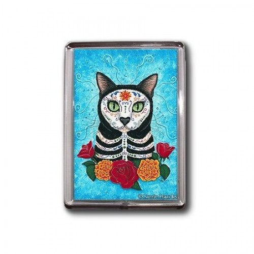 Magnet - Day of the Dead Cat