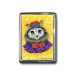 Magnet - Day of the Dead Cat Princess