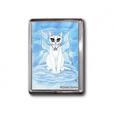 Magnet - Elemental Air Fairy Cat