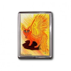Magnet - Elemental Fire Fairy Cat
