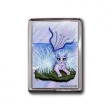 Magnet - Elemental Water Mermaid Cat