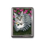 Magnet - Garden Cat