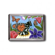 Magnet - Monarch Butterfly Fairy Cat