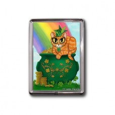 Magnet - St. Paddy's Day Cat