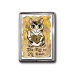 Magnet - Steampunk Valentine Cat