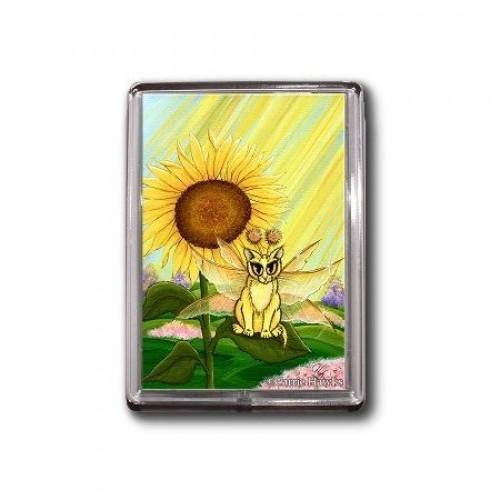 Magnet - Summer Sunshine Fairy Cat