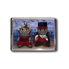 Magnet - Vampire Cat Couple
