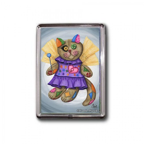 Magnet - Voodoo Empress Fairy Cat Doll