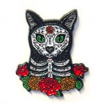 Enamel Pin - Day of the Dead Cat