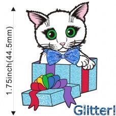 Enamel Pin - Gift Kitten Boy -PREORDER