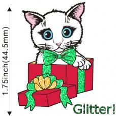 Enamel Pin - Holiday Kitten Boy -PREORDER