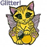 Enamel Pin - Lemon Blossom Fairy Kitten